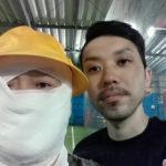 【フットサル場で働く選手ブログ3】 福ちゃん&LEGITサポートプレーヤーさとるコサル!