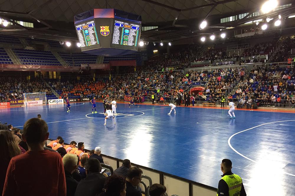 【スペインフットサル日記3】世界最高レベルのスペインリーグの試合観戦