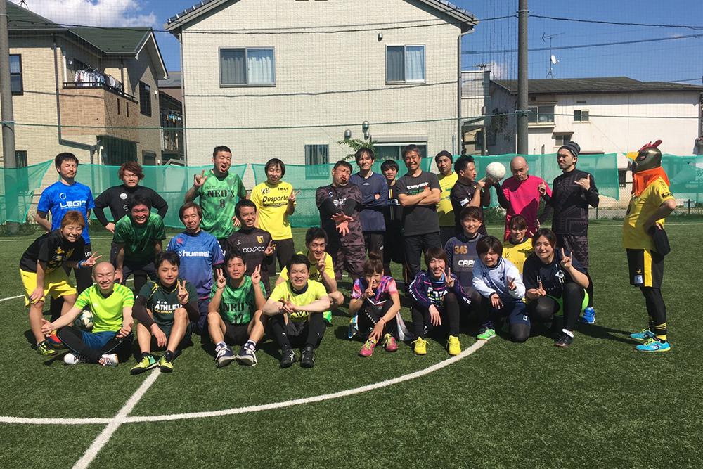 【フットサル場で働く選手ブログ2】 福ちゃん&LEGITサポートプレーヤーさとるコサル!