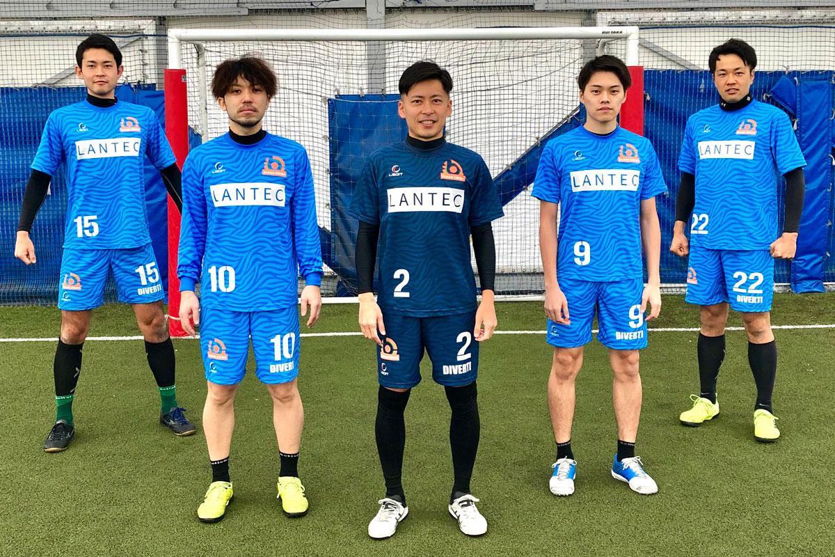 サッカー フットサル ユニフォーム事例/ゼブラ柄(昇華プリント)/Sonne千葉