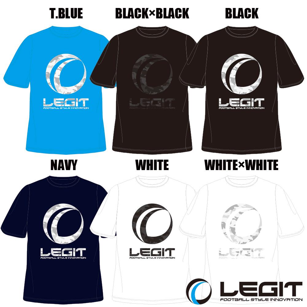 LEGIT/レジット 定番カモフラージュ柄ロゴTシャツ LG-R59