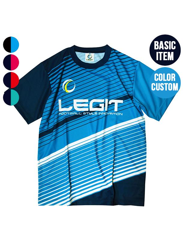 4カラー|ボーダープラクティスシャツ