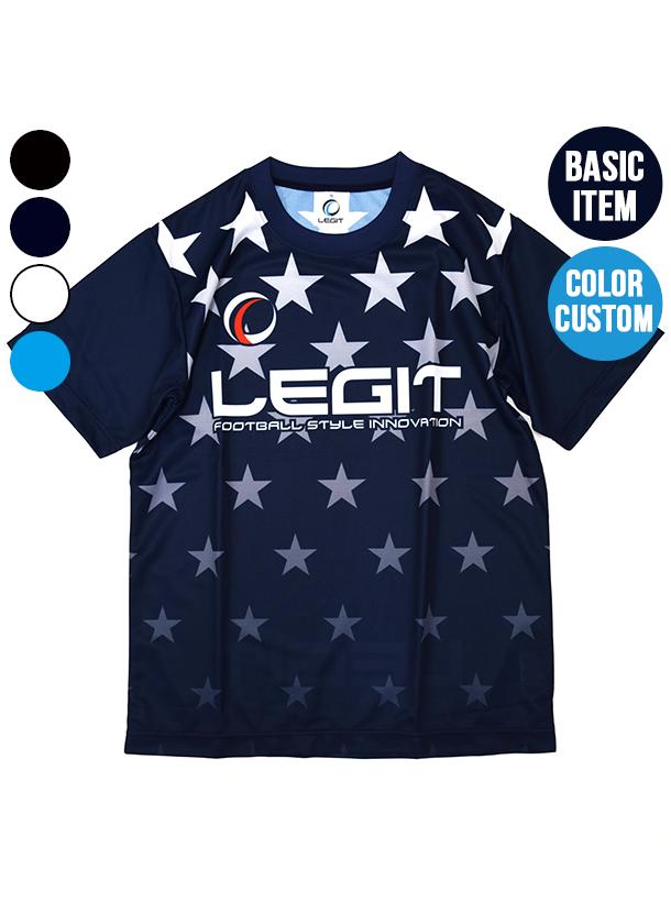 4カラー|グラデーションスタープラクティスシャツ