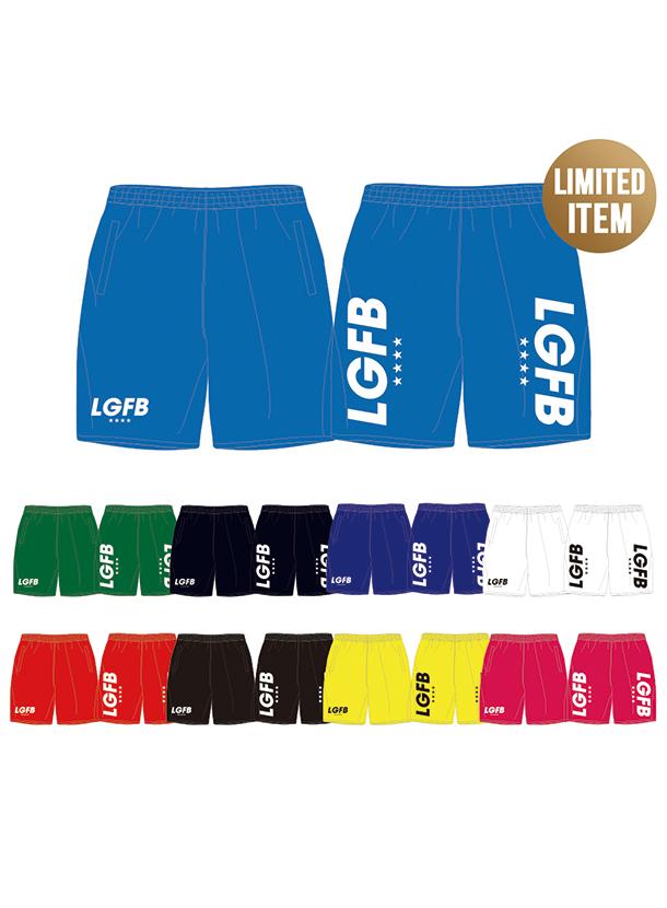 9カラー|LGFBロゴ スウェットハーフパンツ