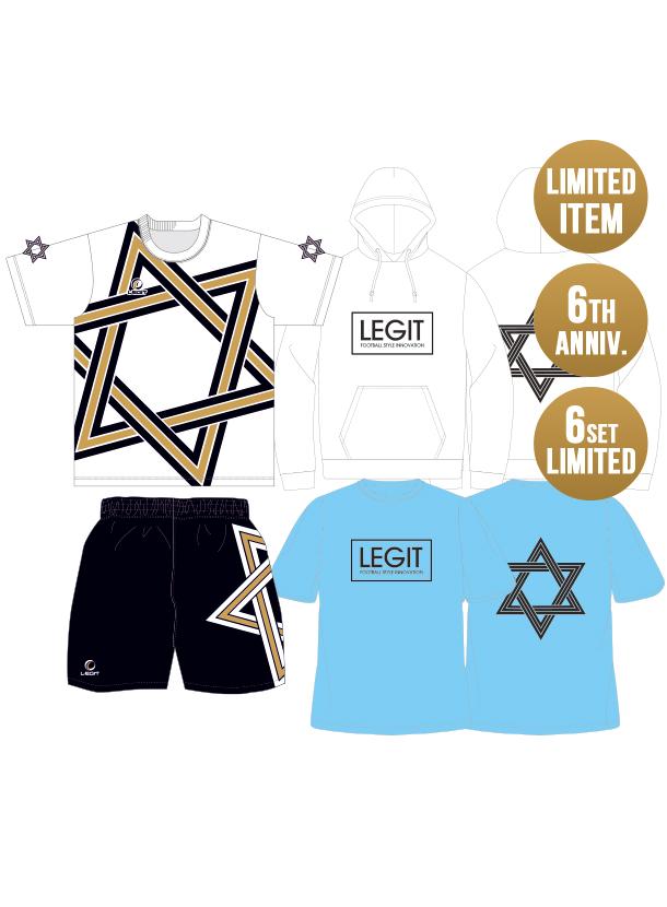 LEGIT 6周年記念限定/6th anniv.STAR プレミアムセット(6セット限定/予約商品)