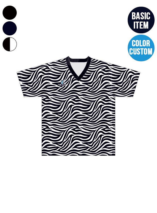 <先行予約>3カラー|ゼブラパターン プラクティスシャツ